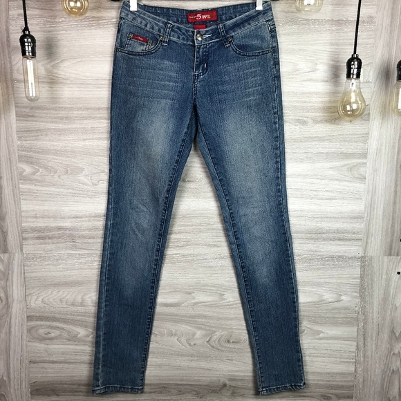 Give Me 5ive Denim - Give Me 5ive Skinny Stretch Jeans Size 3